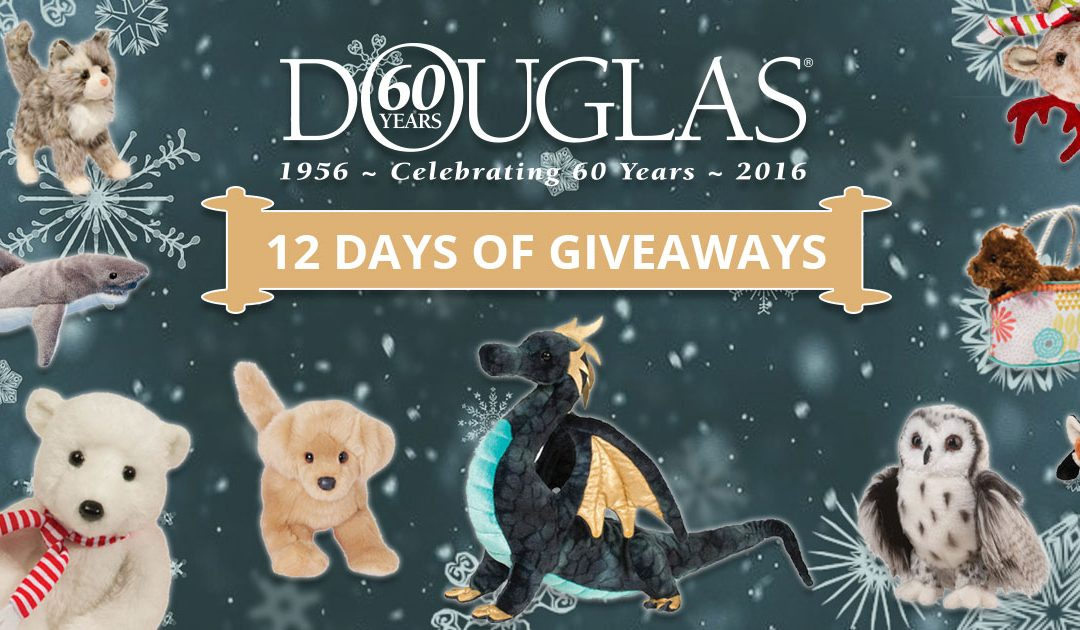 It's the 12 Days of Giveaways!