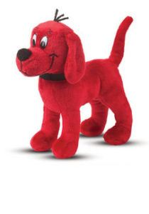 Stuffed Clifford the Big Red Dog