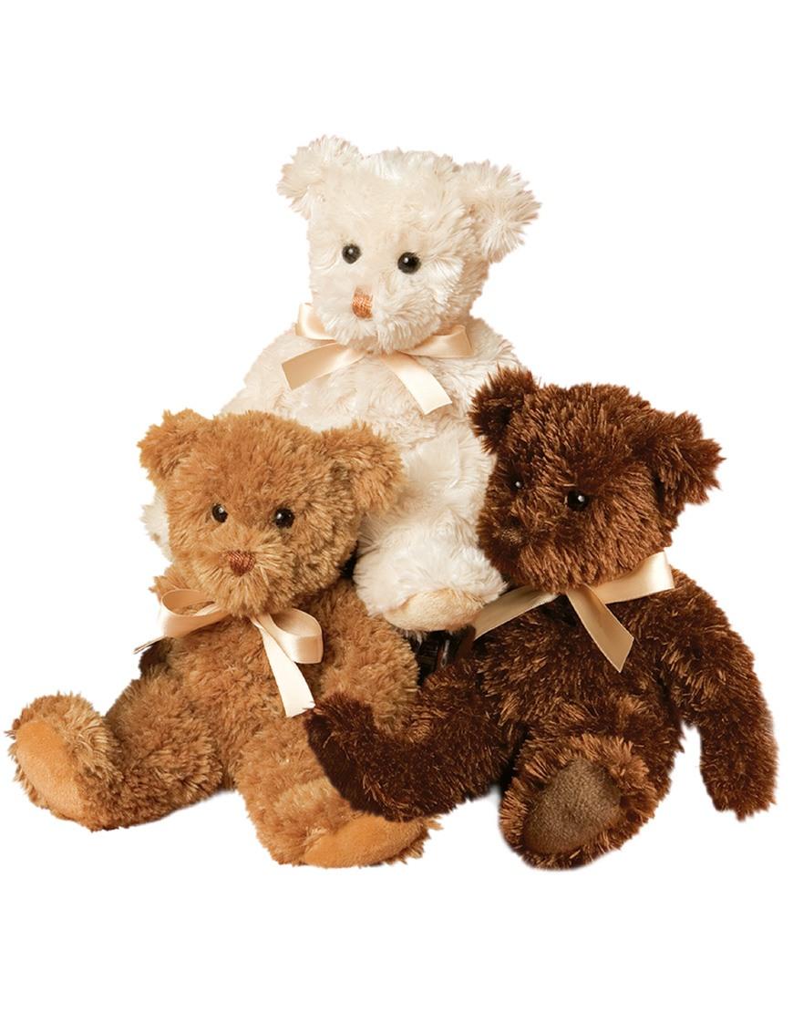 Cream Fuzzy Teddy Bear Douglas Cuddle Toys