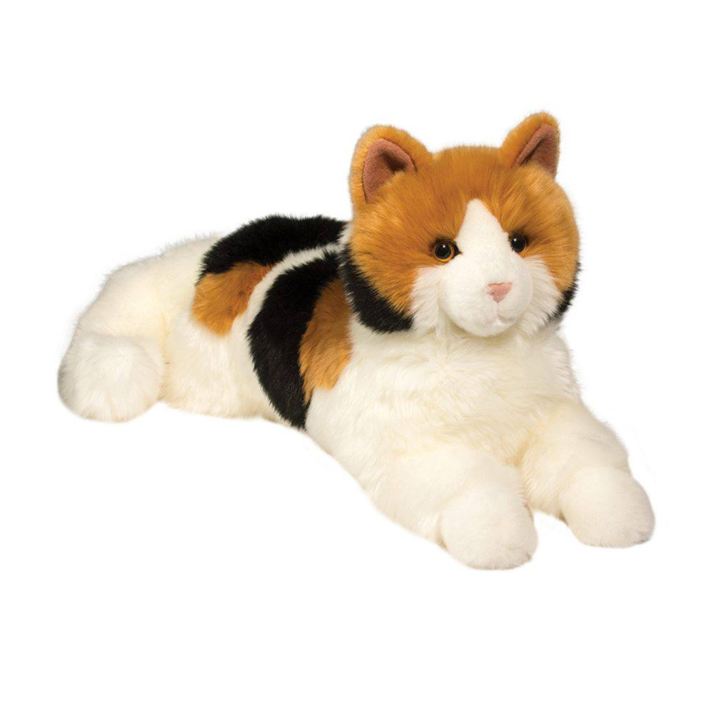 Cats plush animal colored animal cats fantasy cats animal toy