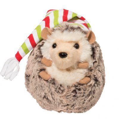 Spunky Hedgehog Holiday Hat