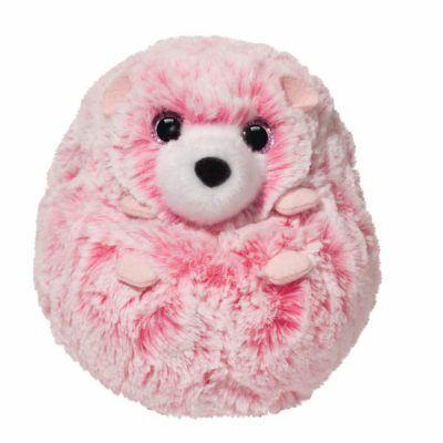 Swirly Pink Hedgehog*
