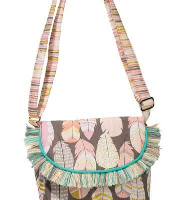 Dream Feathers Crossbody*