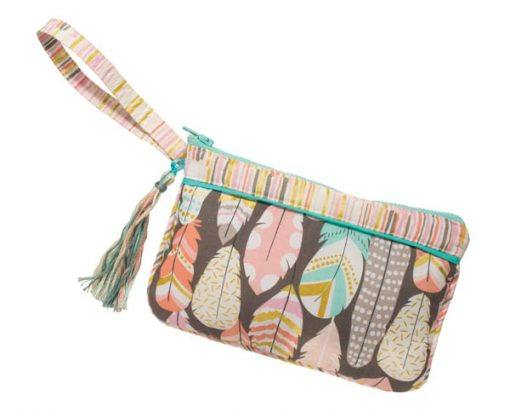 Dream Feathers Wristlet*