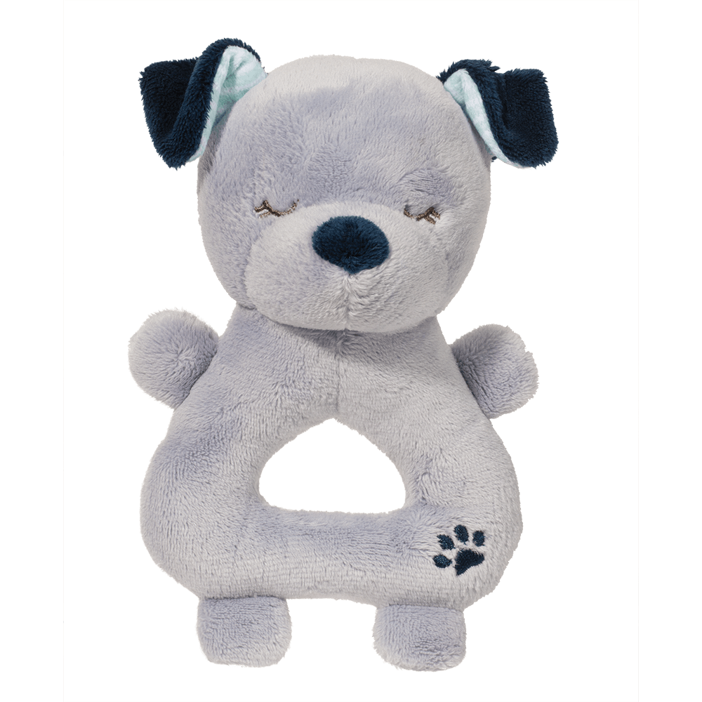 Blue Dog Rattle