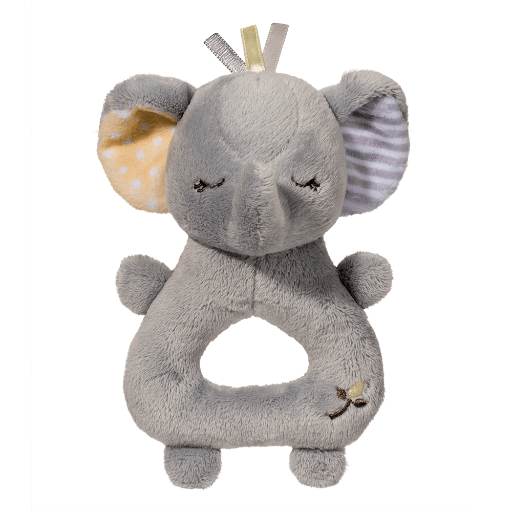Gray Elephant Rattle