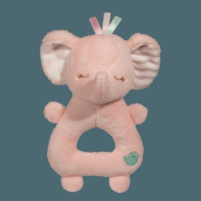 Pink Elephant Rattle