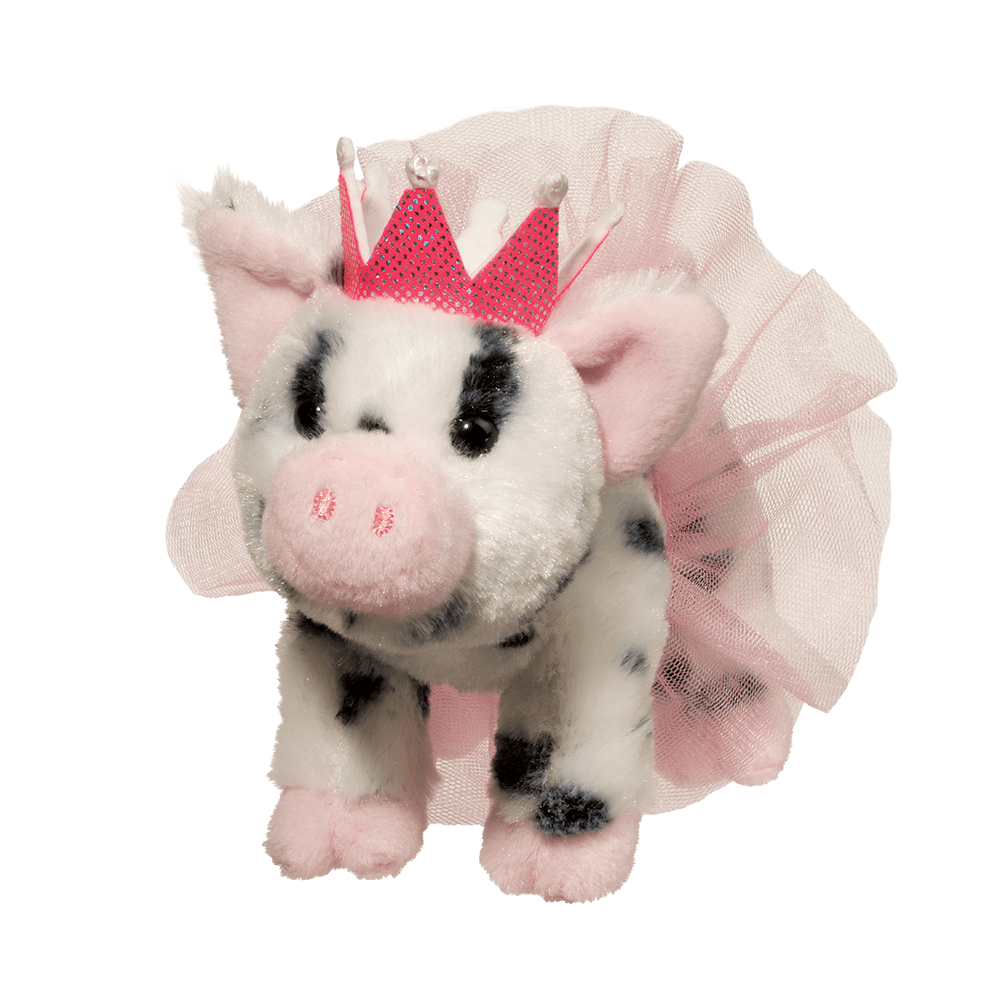 Loretta Spotted Pig with Crown