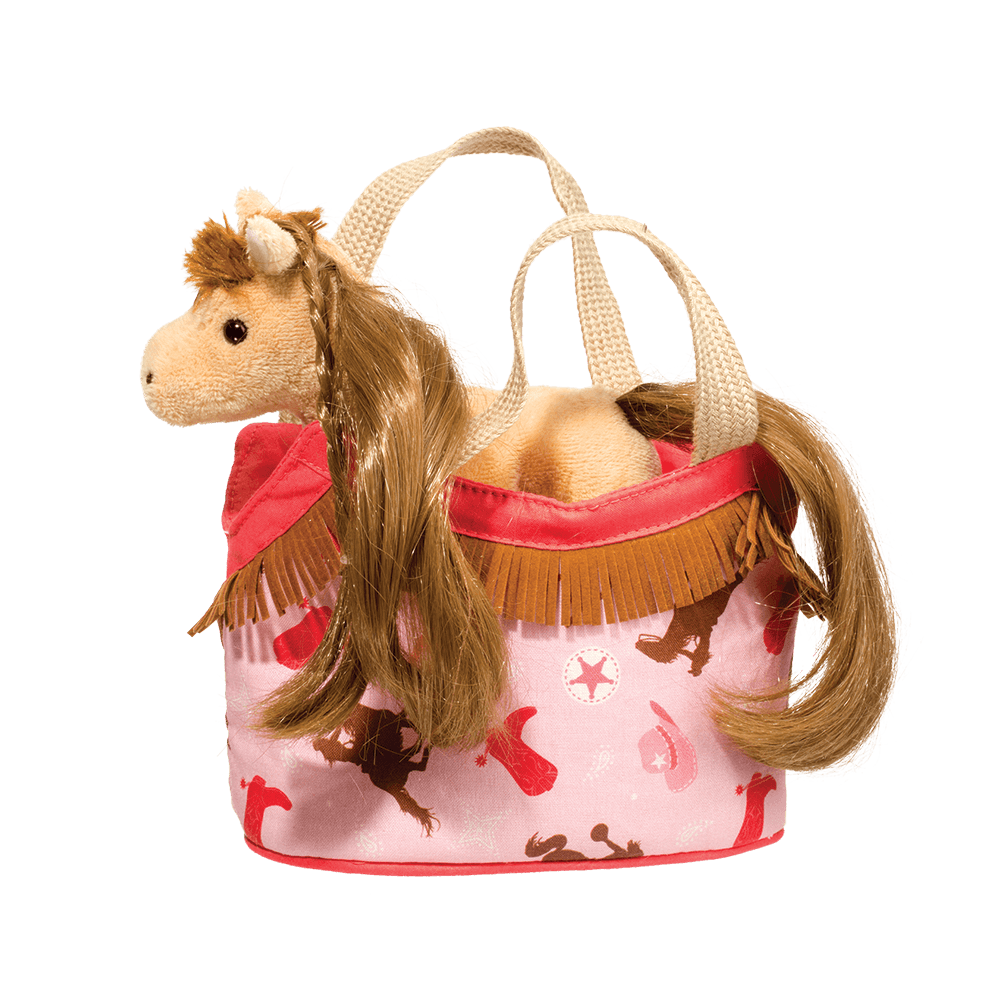 Golden Princess Horse Sassy Pet Sak