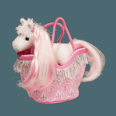 Pink Princess Horse Sassy Pet Sak