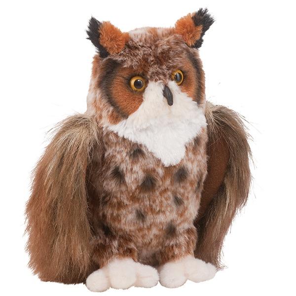 Einstein Great Horned Owl