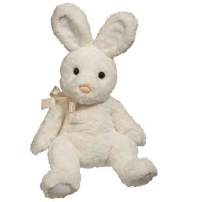 Stasha White Bunny, Medium