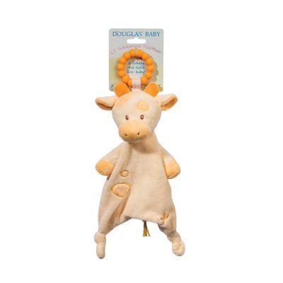 giraffe baby teether snuggler