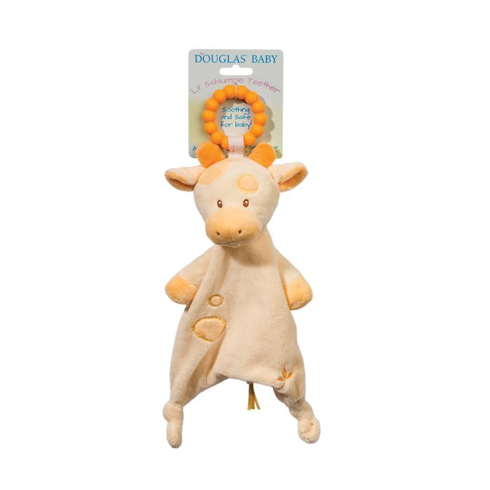giraffe baby teether snuggler