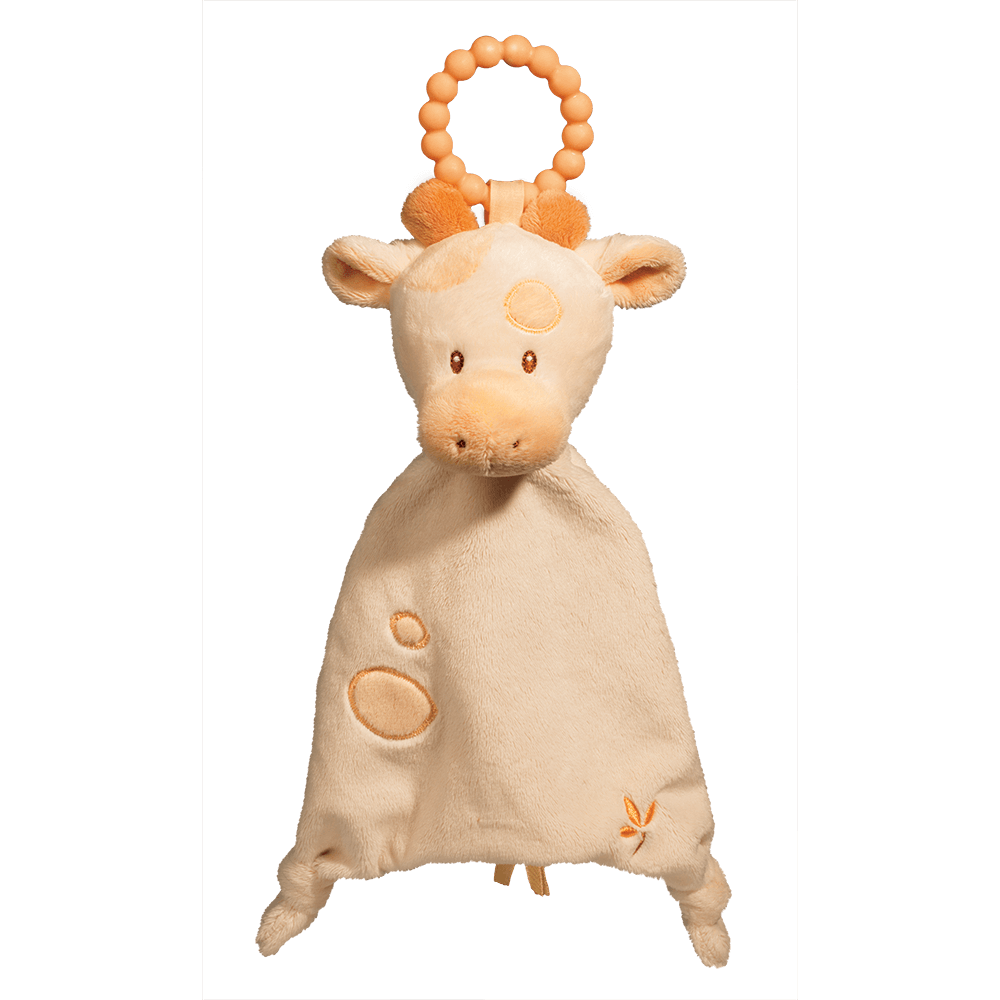 Spotted Giraffe Lil' Sshlumpie Teether Blankie