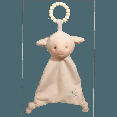 Lamb Lil' Sshlumpie Teether Blankie