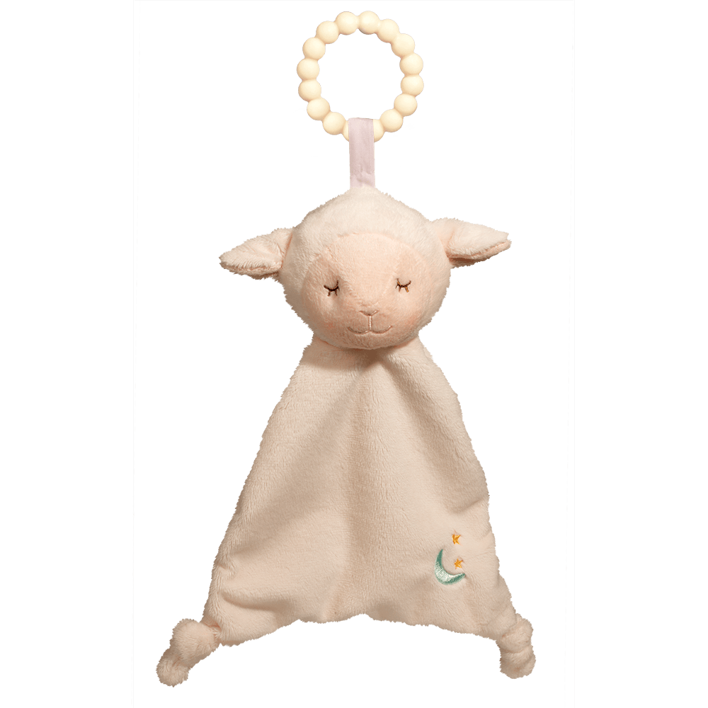 Lamb Lil' Sshlumpie Teether Blankie