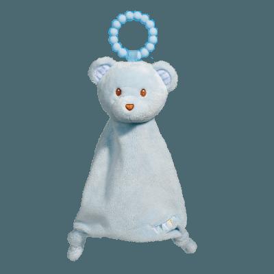 Blue Bear Lil' Sshlumpie Teether Blankie