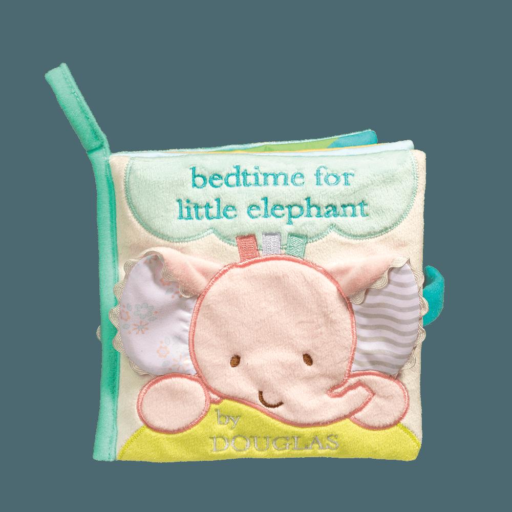 Sweet pink elephant baby gift set douglas cuddle toy pink elephant activity book negle Images