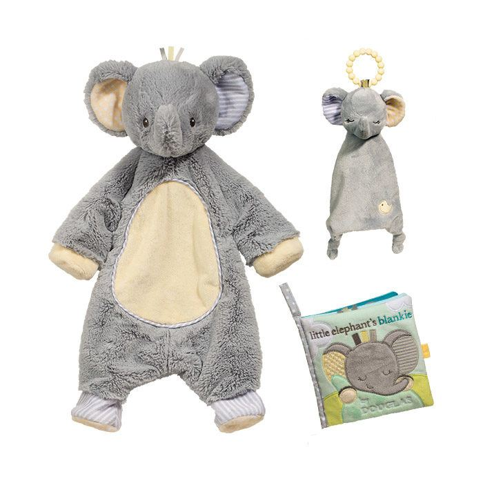 Grey Elephant Gift Set