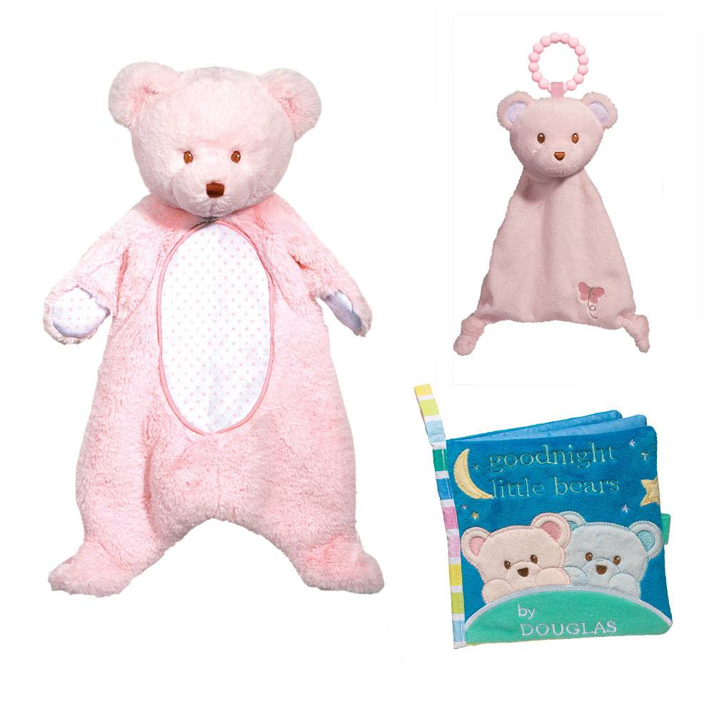 Pink Bear Gift Set