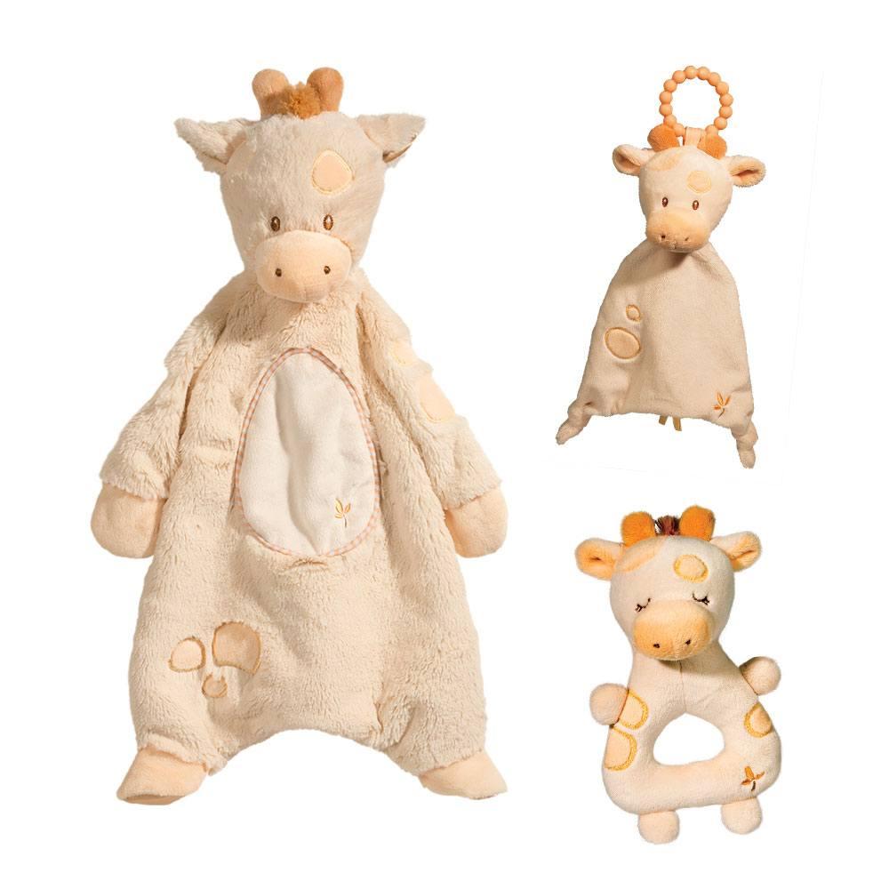 little spotted giraffe baby gift set douglas toys. Black Bedroom Furniture Sets. Home Design Ideas