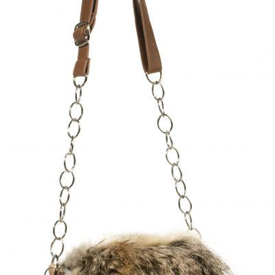 Twilight Fur Crossbody Bag