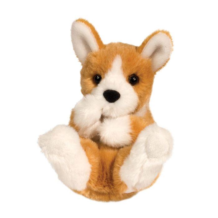 little stuffed animal corgi dog.