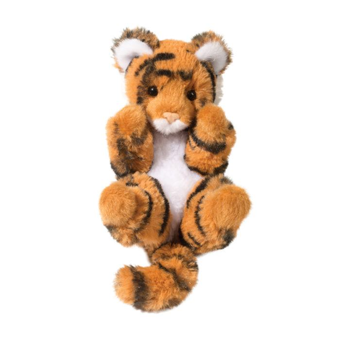 Lil' Handful stuffed animal tiger cub.