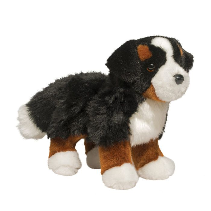 suffed animal bernese mountain dog