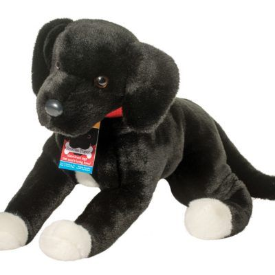 black lab rescue stuffed animal