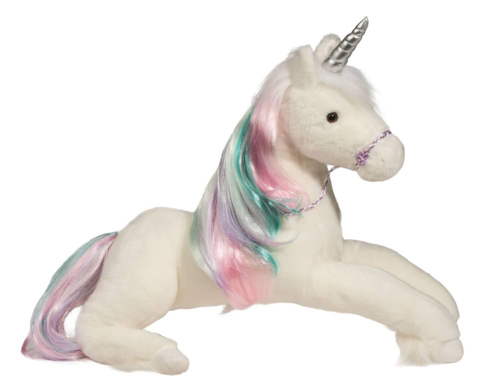 Rainbow princess unicorn large