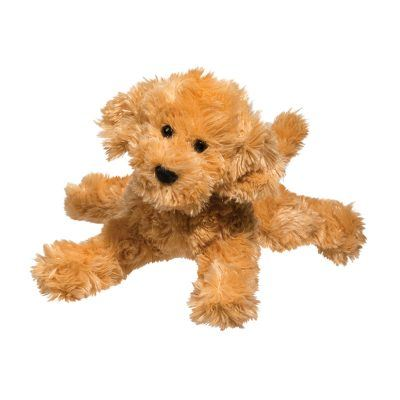 Soft stuffed animal labradoodle.