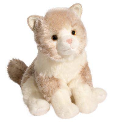 Cream Plush Cat