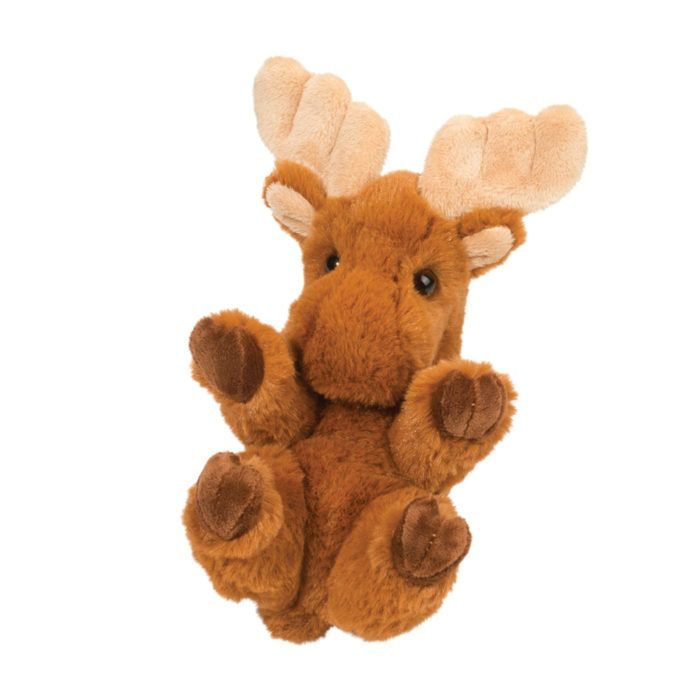 Small moose stuffed animal