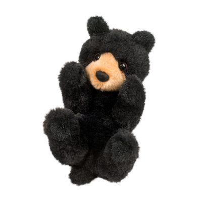 little black bear stuffed animal.