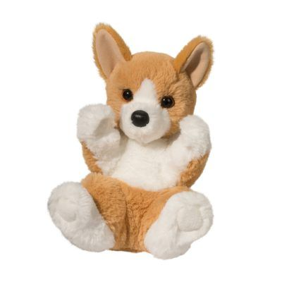 Soft and corgi stuffed animal dog fits in your hands