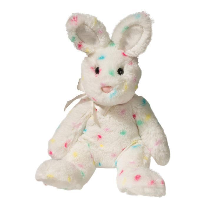 Confetti multi colored bunny