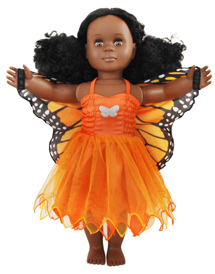 monarch butterfly doll dress