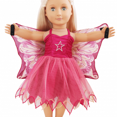 pink fairy doll dress