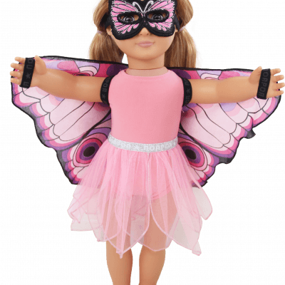butterfly doll set