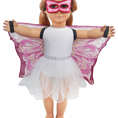 pink fairy doll set