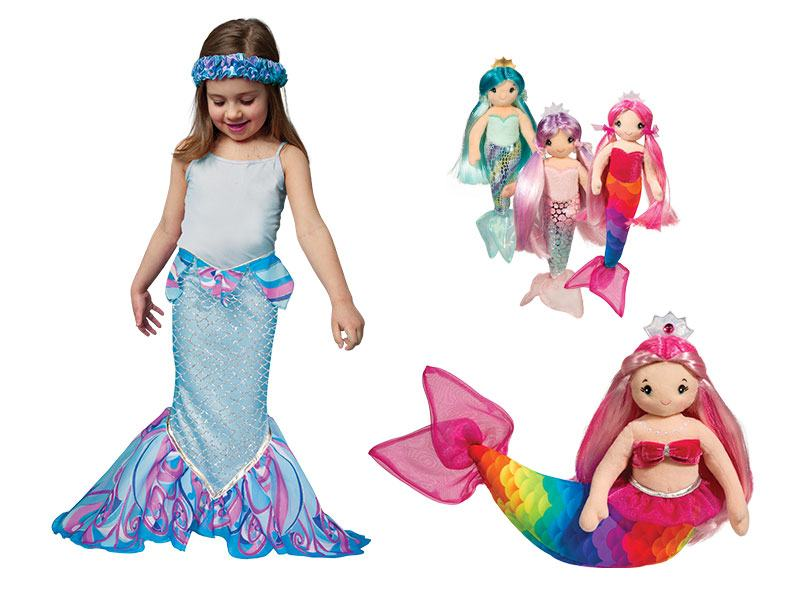 Mermaid Dress Up and Dolls