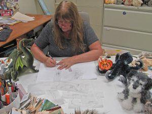 Designer Crystal Rokes of Douglas Toys