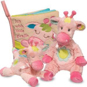 Pink Giraffe Baby Toys