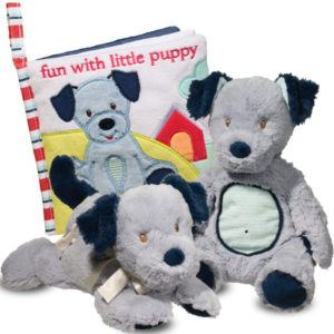 Little Blue Puppy Baby Collection