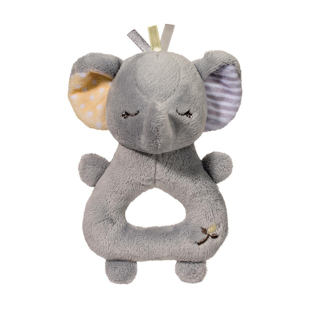Gray Elephant Rattle Douglas Toys