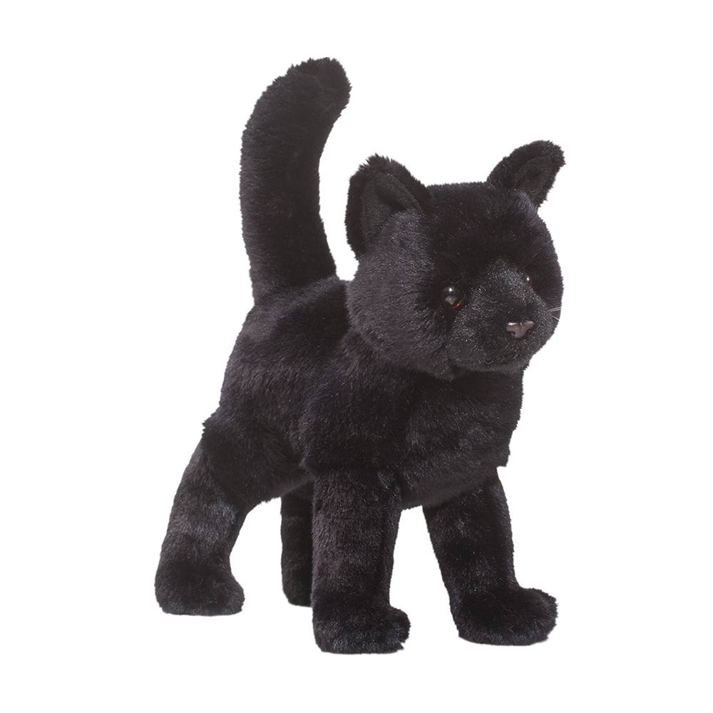 Midnight Black Cat Douglas Toys