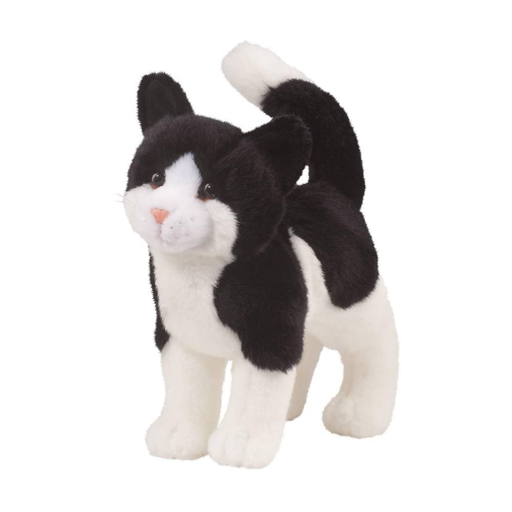 Scooter Black White Cat Douglas Toys