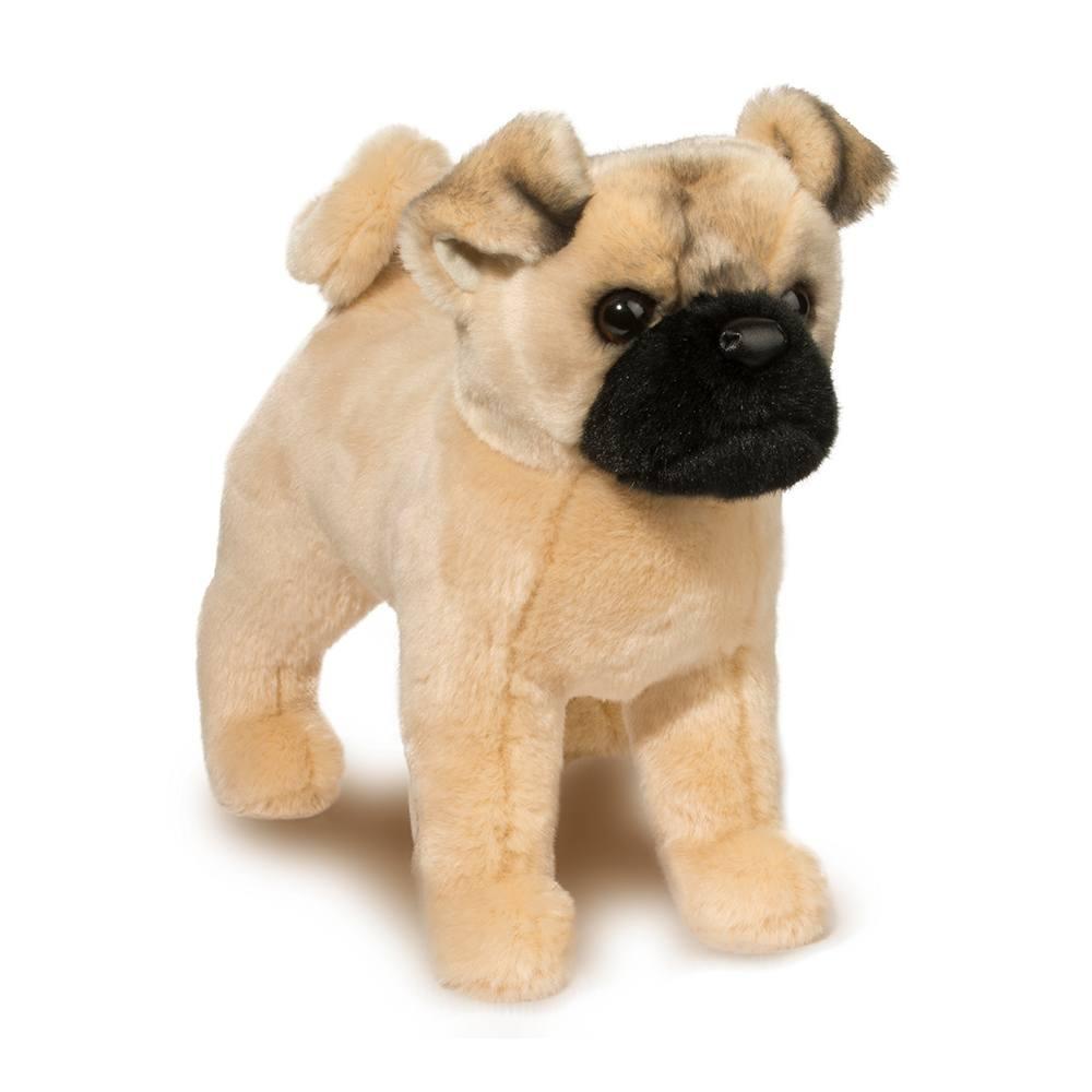 Realistic Pug Stuffed Animal, Russo Pug Stuffed Pugs Other Breeds Douglas Cuddle Toys